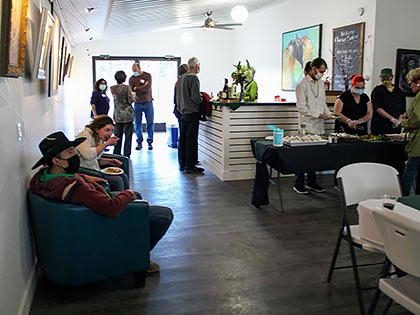 event center buffet